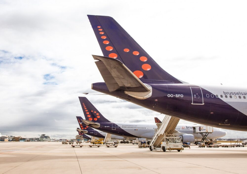 Brussels Airlines Aircraft Livery