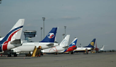 Planes Bratislava Airport