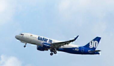 GoAir plane