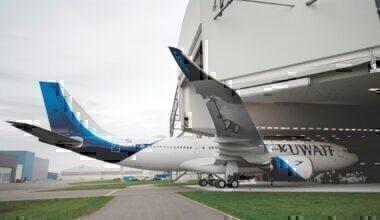 A330-800 kuwait airways Airbus