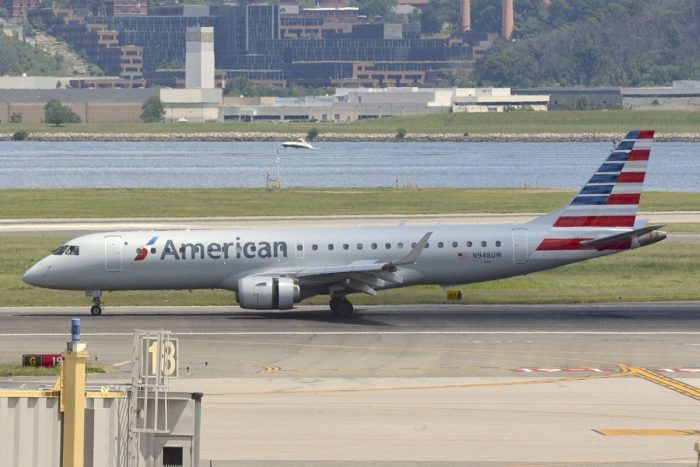 American Airlines E190 Aircraft