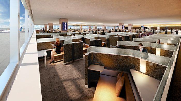 ANA Lounge Booth