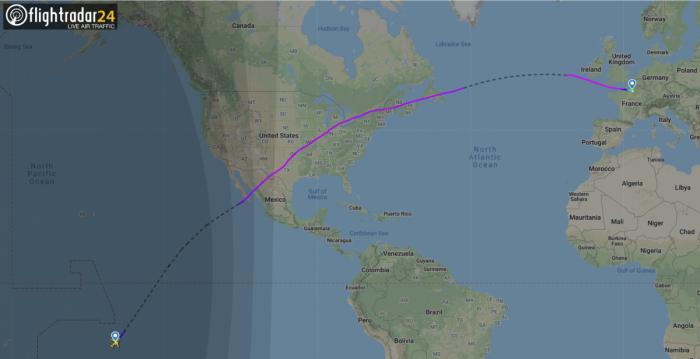 Air Tahiti Nui Flies The World's Longest Domestic Flight At 16 Hours!