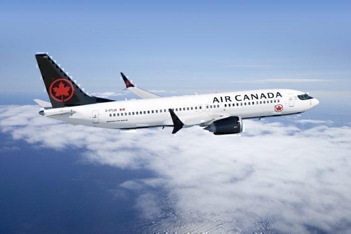 Air Canada Boeing 737 MAX 8