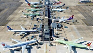Airbus planes at Toulouse