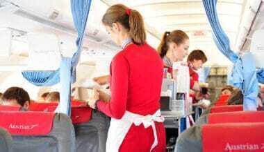Austrian cabin crew