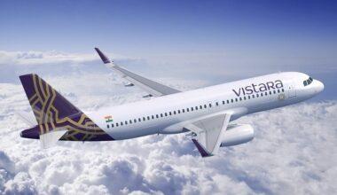 Vistara Airbus Aircraft