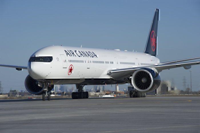 Air Canada 777-300ER rescue mission flight