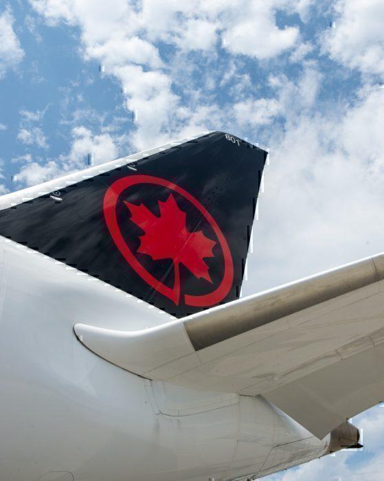 B787-8 Tail, Air Canada