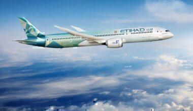 Etihad Airways, Greenliner, Dublin, St Patrick's Day