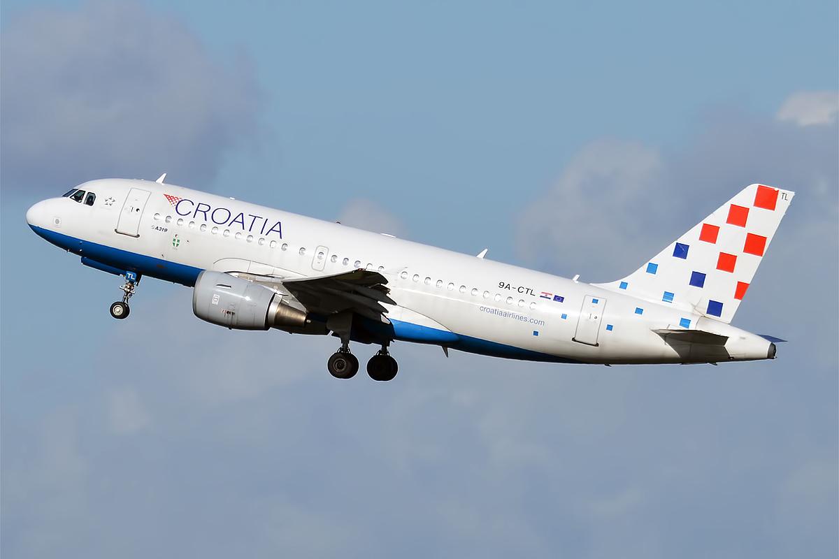 Croatia Airlines A320 Afghanistan