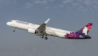 Hawaiian Airlines Aircraft Sky