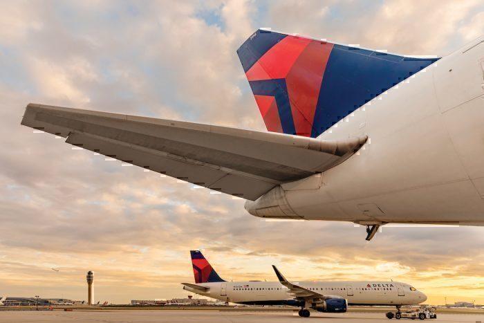 Delta jets