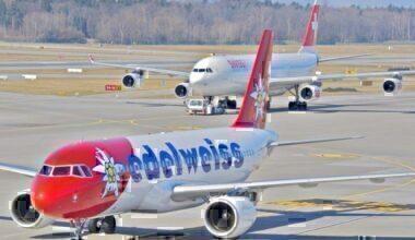 Swiss Edelweiss Air Airbus A340 Kosovo Pristina