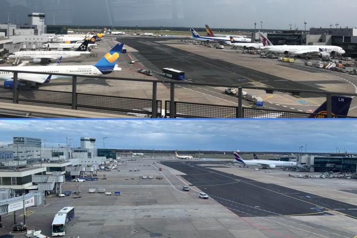 Frankfurt Airport, Passengers Fall, Coronavirus
