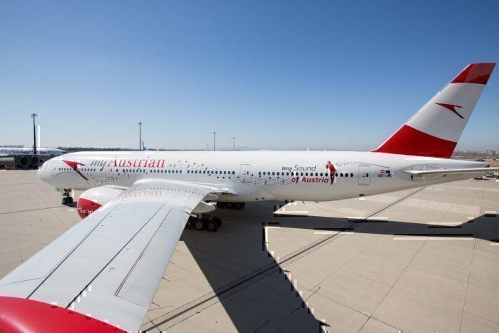Wow: Austrian Airlines Flies Direct Boeing 777 Vienna To Sydney Flight