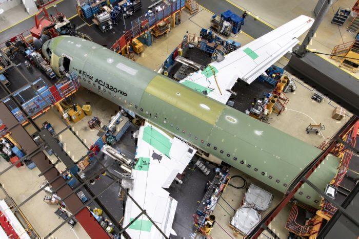 Coronavirus Airbus March 17