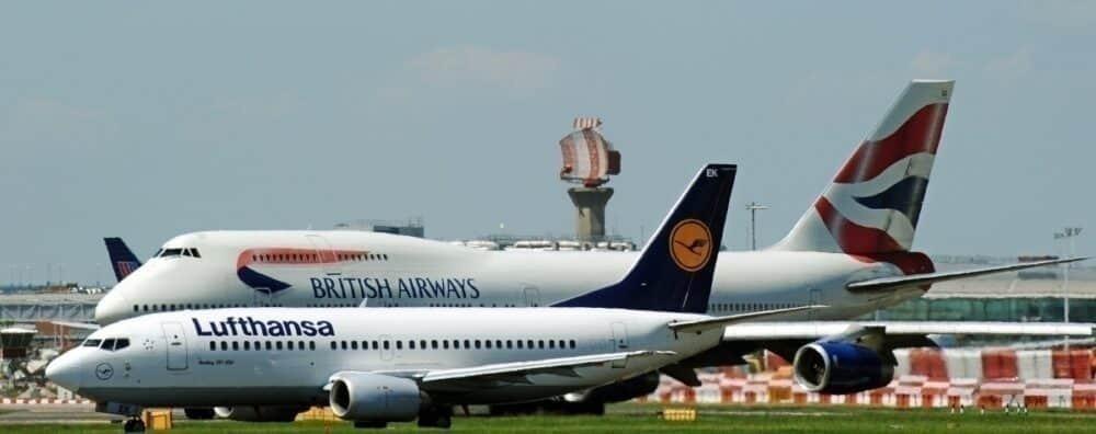 British airways lufthansa getty images