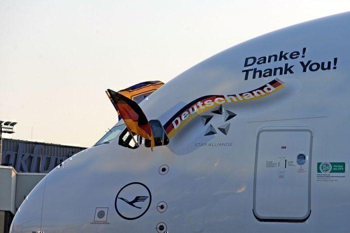Lufthansa, Airbus A380, Coronavirus