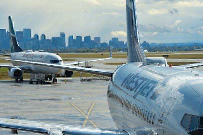 WestJet repatriation