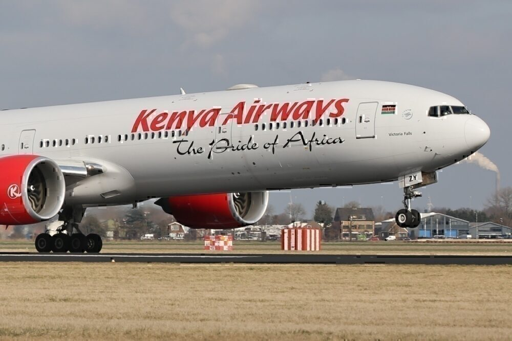Kenya Airways 777