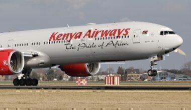 Kenya Airways 777