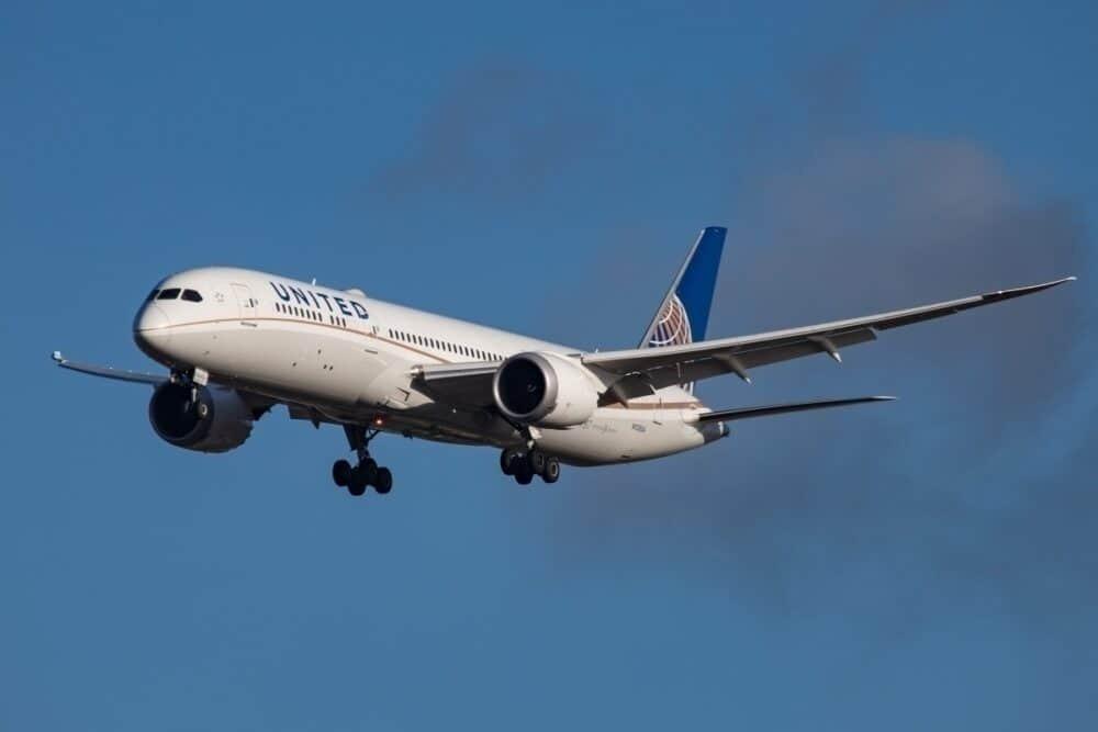 United 787-9 Dreamliner