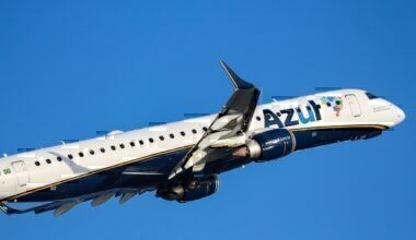 Azul airline Embraer E195E1 Getty Images