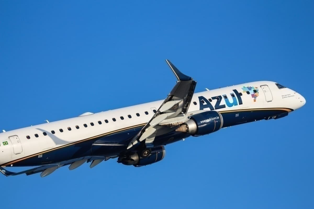 Azul airline Embraer E195E1 Getty Images