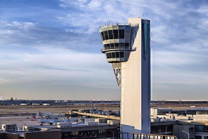 Philadelphia International Airport control tower