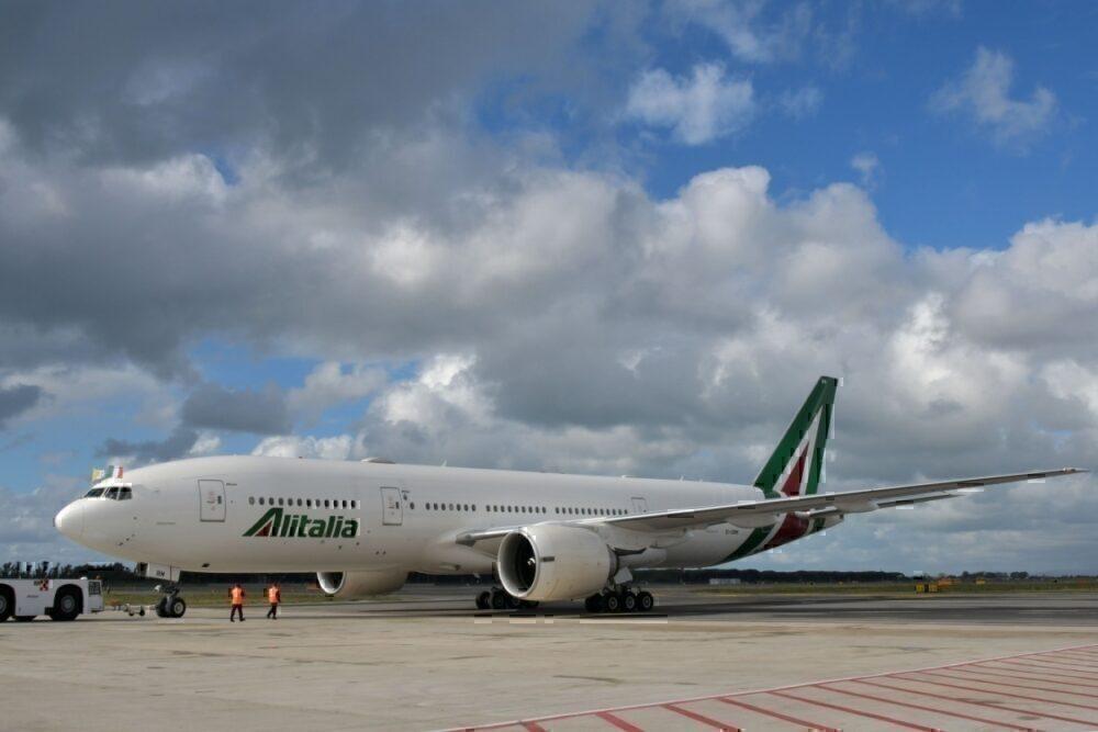 Alitalia 777