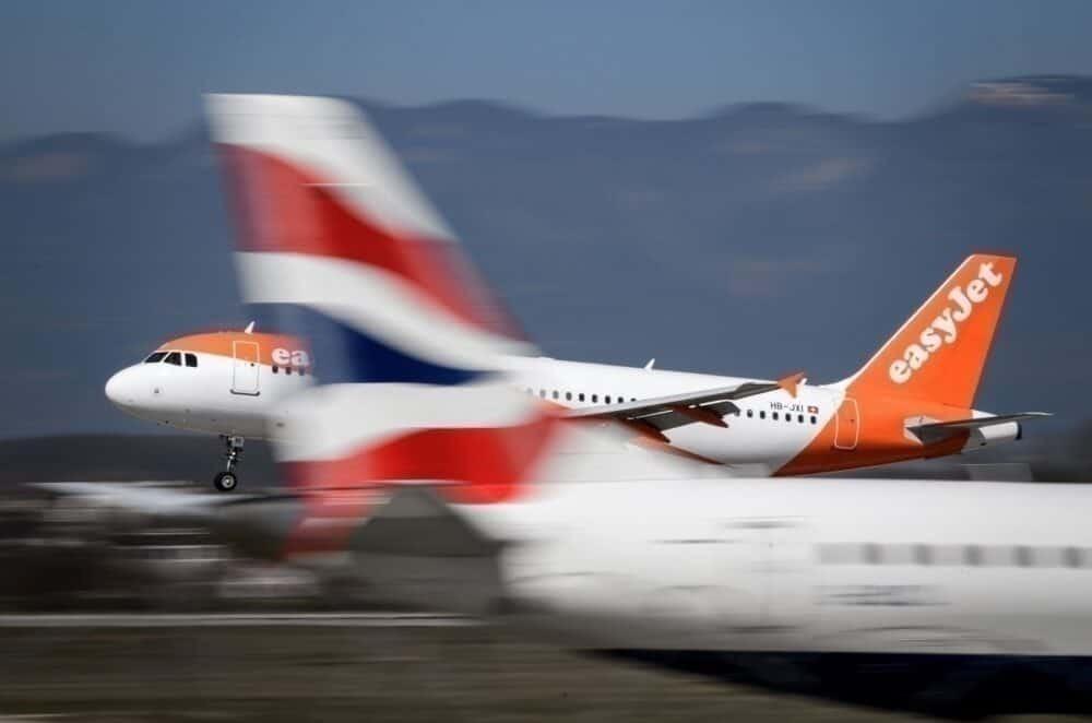 easyJet and British Airways