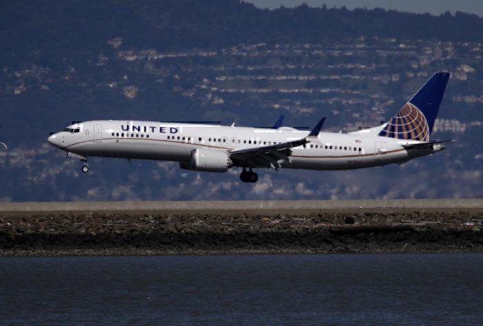 Boeing 737 MAX united