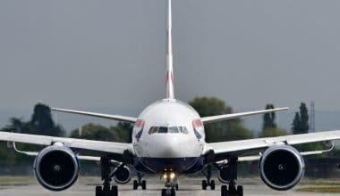 British Airways takes off from Heathrow