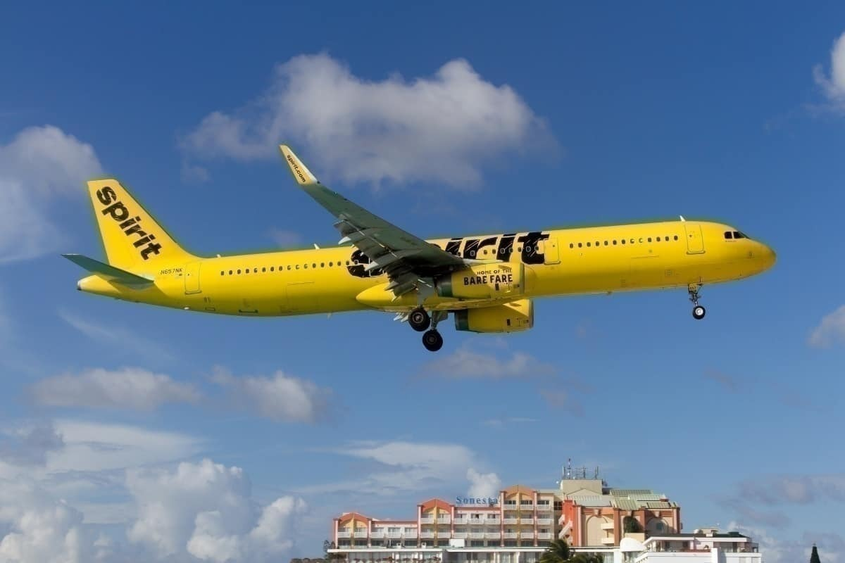 Spirit airlines A321