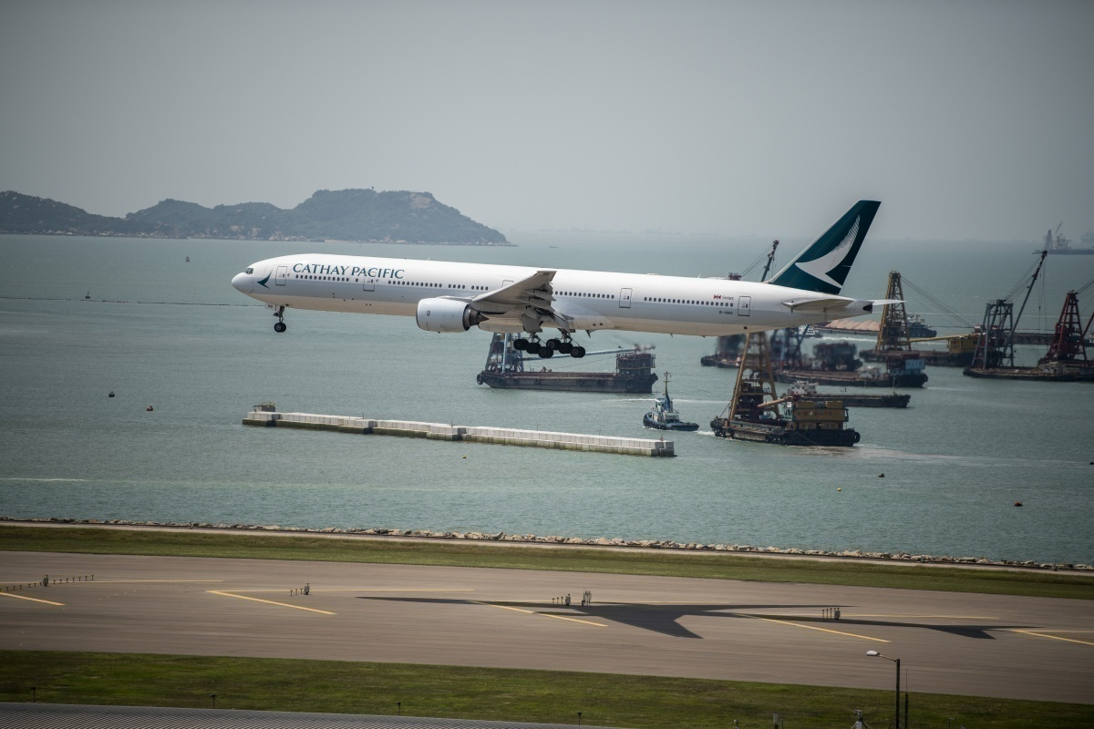 Cathay Pacific jet Getty