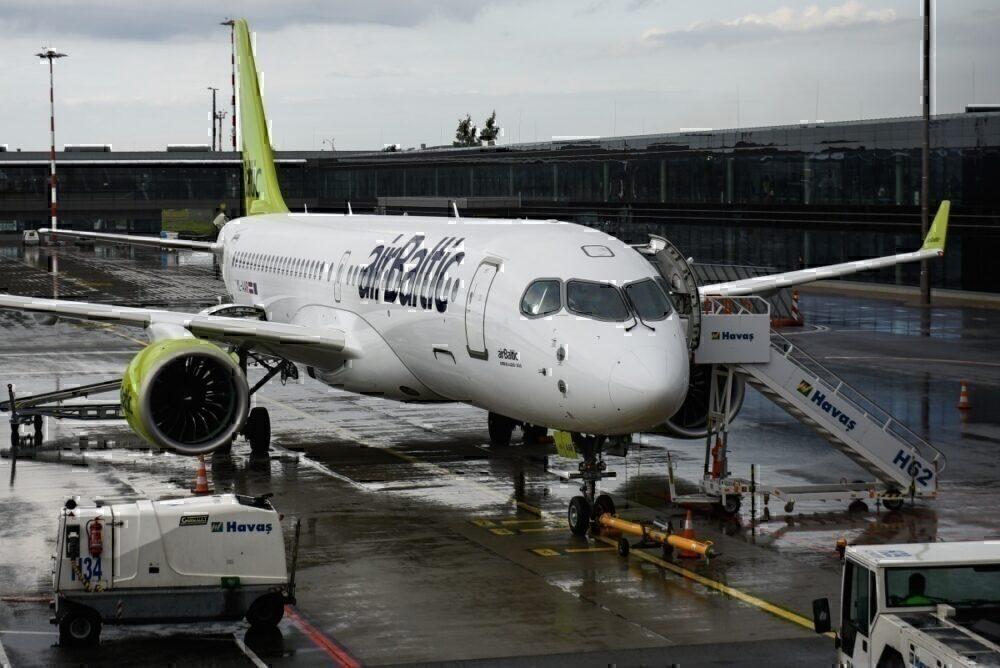 airbaltic, uk quarantine, London flights
