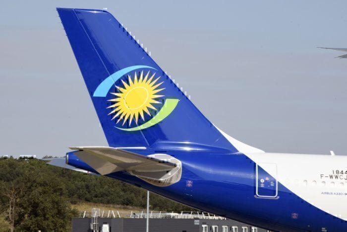 RwandAir jet