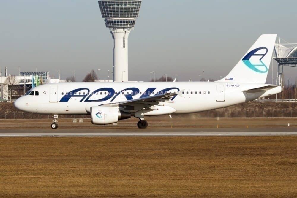 Adria Airways A319