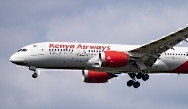 Kenya Airways flight