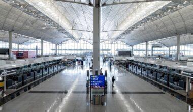 hong kong airport empty coronavirus getty images