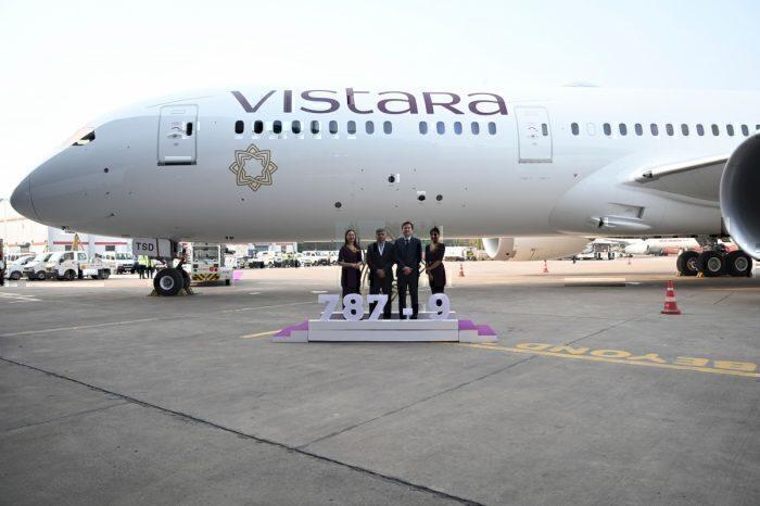 Vistara Dreamliner 787