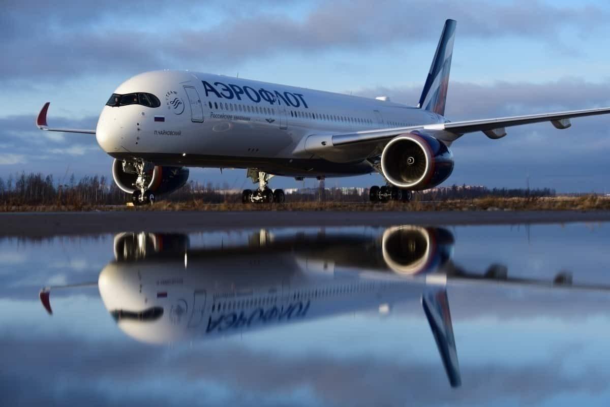 Aeroflot Aircraft A350 getty