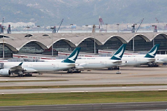 cathay at hong kong airport