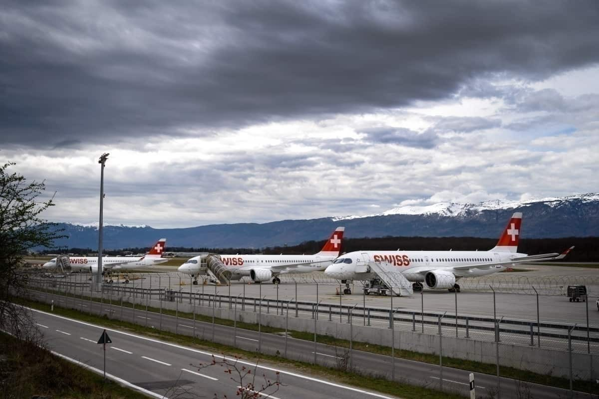 Lufthansa, Grounded Aircraft, Berlin Brandenburg Airport