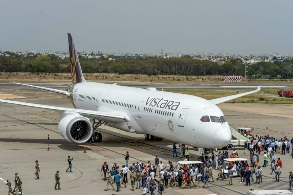 Vistara 787 Dreamliner