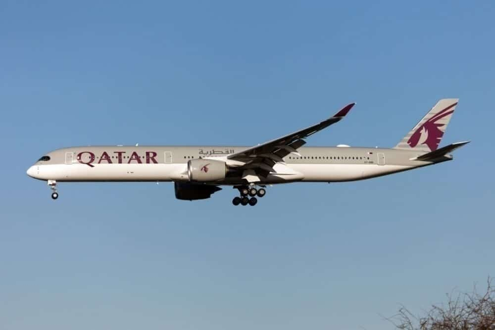 Qatar Airways A350 Getty