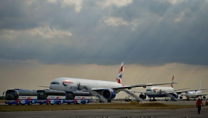 British Airways 777 repatriation