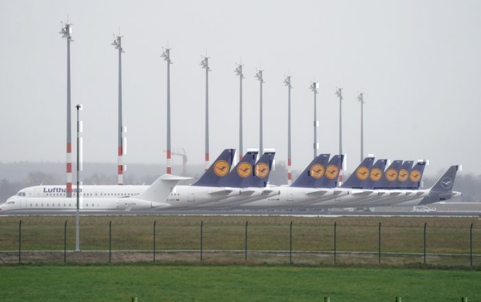 Lufthansa, Grounded Aircraft, Berlin Brandenburg Airport