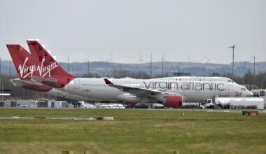Virgin Atlantic, Grounded Aircraft, Coronavirus